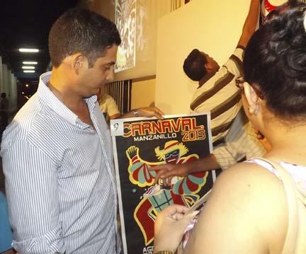Cartel del carnaval Manzanillo 2015