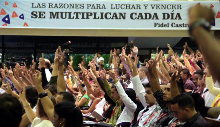 Congreso de la UJC reafirma principios y define prioridades