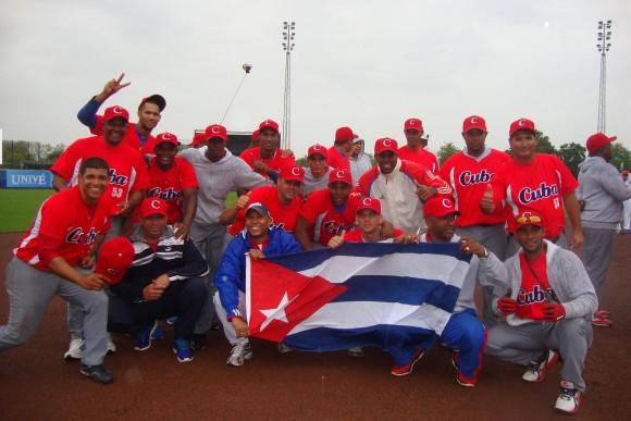 Cuba Campeón de Rotterdam 2015