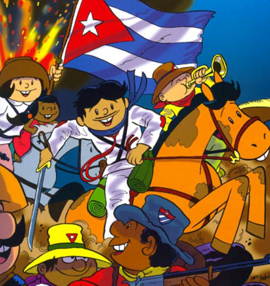 Celebra Arte en La Rampa aniversario 45 de Elpidio Valdés