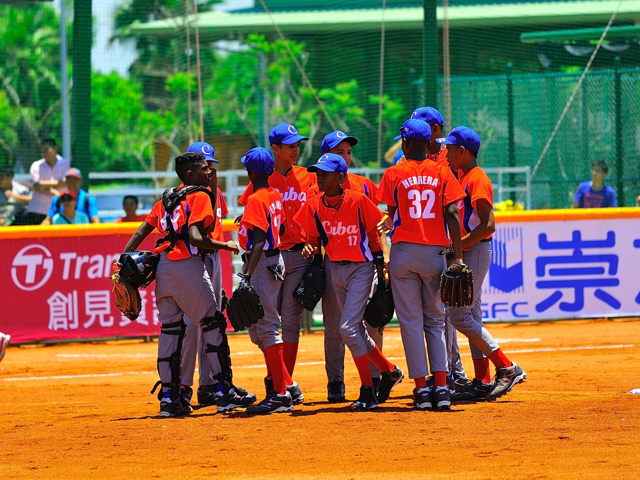 Equipo Cuba, Copa Mundial Sub 12, Taipei de China