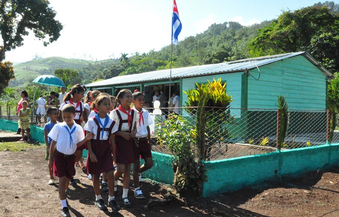 Escuela primaria, Buey Arriba, Granma