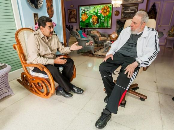 Carta de Maduro a Fidel