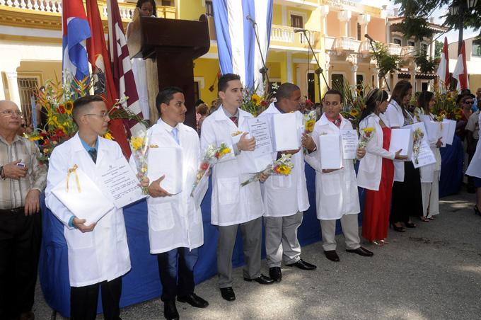 Graduación, Ciencias Médicas, Bayamo