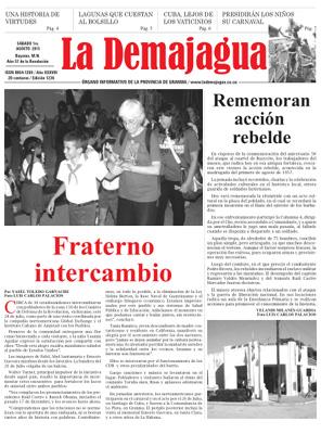 Semanario La Demajagua (PDF), 1ro. de agosto 2015