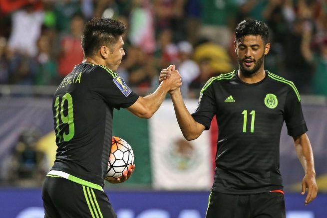 México goleó por 6-0 a Cuba en Grupo 'C' de la Copa Oro 2015