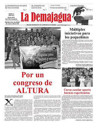 Edición Impresa del Semanario, 18 de julio 2015