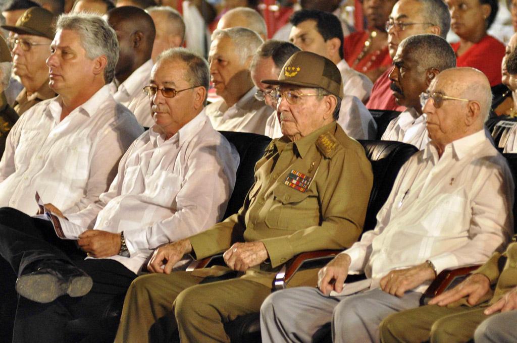 SANTIAGO DE CUBA-ACTO CENTRAL POR EL DÍA DE LA REBELDÍA NACIONAL