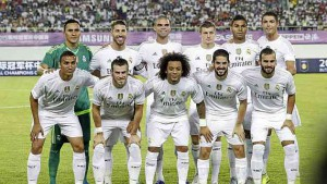 Real Madrid Plantilla