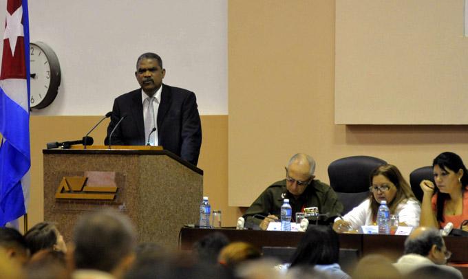 CUBA-LA HABANA- REUNIÓN NACIONAL DE PRESIDENTES DE TRIBUNALES POPULARES