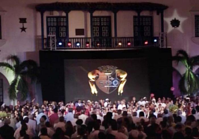 Santiago de Cuba, Gala por el 500 Aniversario