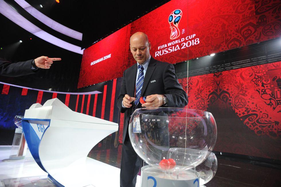 Sorteo de las eliminatorias del Mundial Rusia 2018