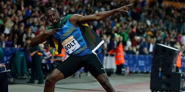 Bolt regresó con victoria en los 100 metros de la Liga de Diamante