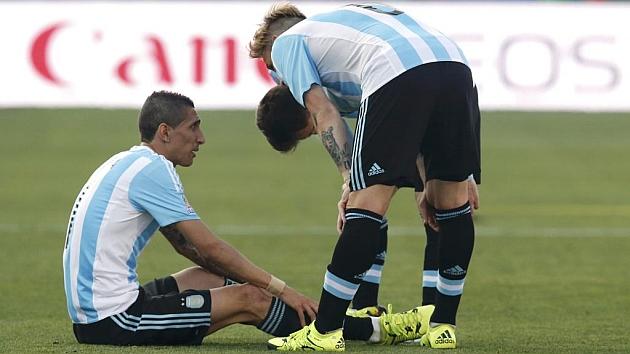 Di María no quiere volver a jugar en el Manchester