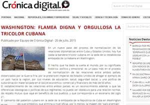 Fin de doctrinas belicistas, Cuba-EEUU, afirma diario chileno