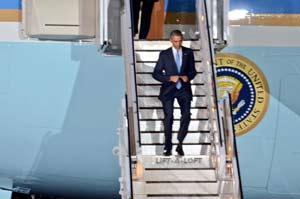 Obama arribó a Nairobi en medio de fuertes medidas de seguridad