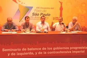 Futuro latinoamericano depende de resistencia, dice dirigente cubano