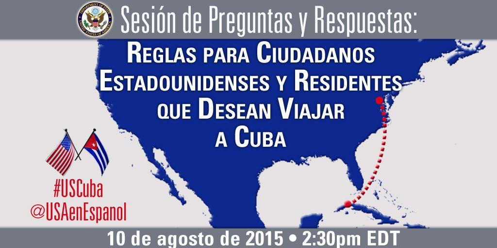 Depende del Congreso que estadounidenses hagan turismo en Cuba