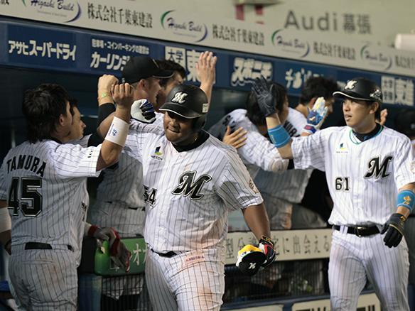 Reacción ofensiva de Alfredo Despaigne guía victoria del Chiba Lotte