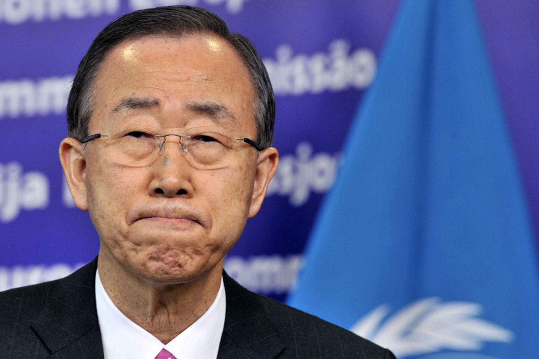 Ban Ki-moon envía condolencias a China por explosiones en Tianjin