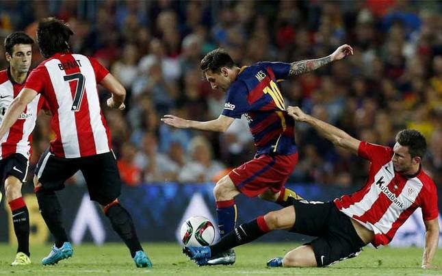 El Barça dice adiós al 'sextete' ante un 'Súper-Athletic'