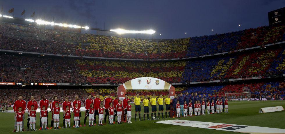 Bravo y Pedro, titulares en un Barça que sale con todo