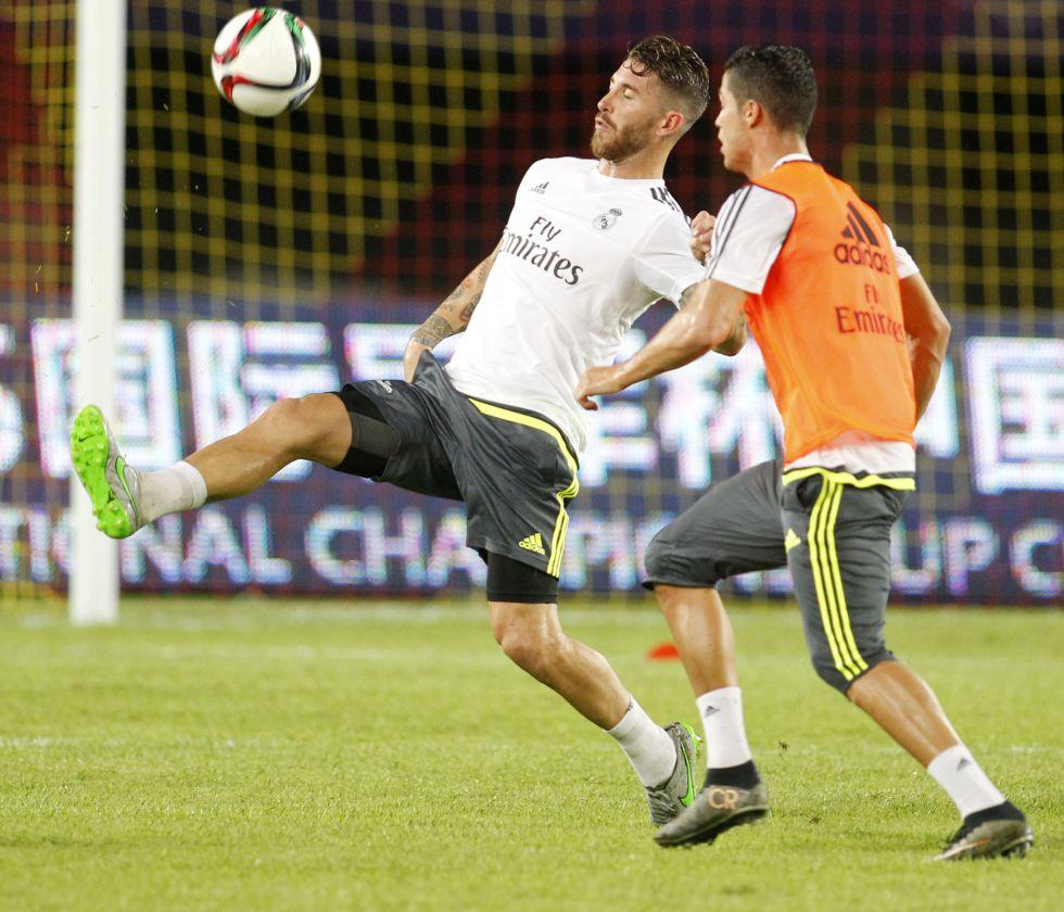 Ramos y Cristiano saldrán de inicio frente al Galatasaray
