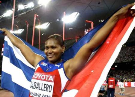 Caballero ratificó al disco femenino del atletismo cubano como la especialidad más estable de los últimos años, al estender a cinco a la cadena de medallas en estos torneos, aunque resultó el primer título