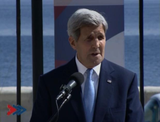 Kerry por nuevo comienzo en relaciones cubano-estadounidense