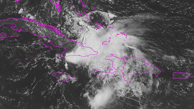 Aviso de ciclón tropical número 13 Tormenta Erika
