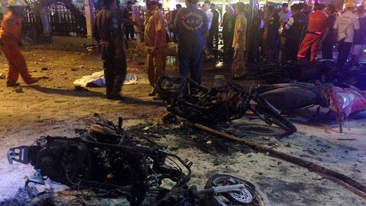 Tailandia: Se produce una explosión en un centro comercial en Bangkok
