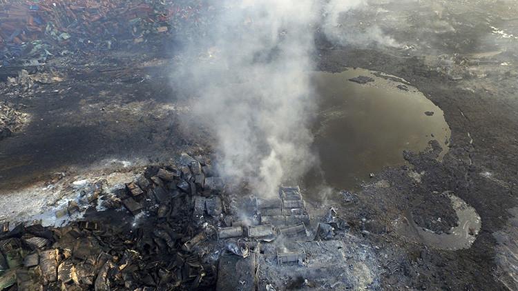 China: Nuevas explosiones sacuden la ciudad de Tianjín