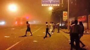 Explosiones en China
