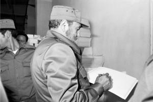 Fidel en el Periódico La Demajagua (5)