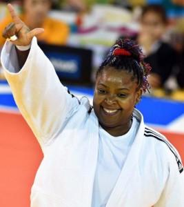 Idalys Ortiz conquistó el bronce en la cita Mundial de judo 2015