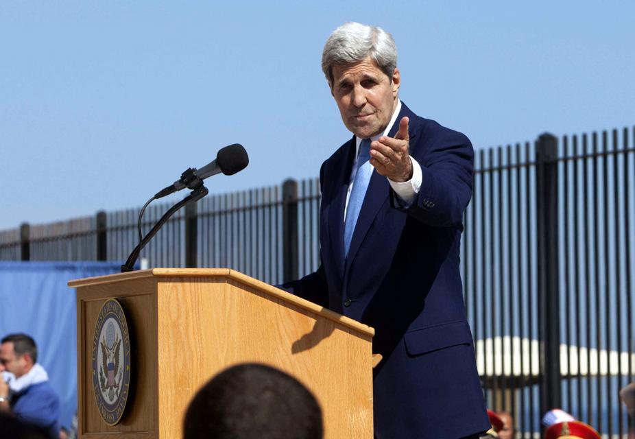 Inauguró Kerry embajada de Estados Unidos en Cuba