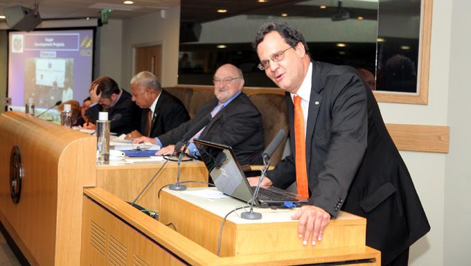 José Orive, Director Ejecutivo de la Organización Internacional del Azúcar (OIA)