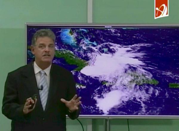 Reporte del Noticiero vespertino sobre las incidencias de Érika, NTV Cuba (video)