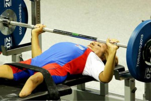 Leidy Rodríguez, levantamiento de pesas