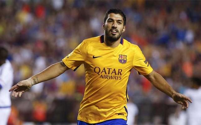 Suárez, con 3 goles, pichichi de la pretemporada