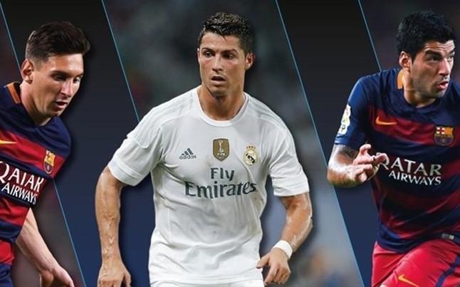 Messi, Cristiano Ronaldo y Suárez, finalistas al mejor jugador de la UEFA