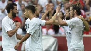 Madrid celebran con Bale