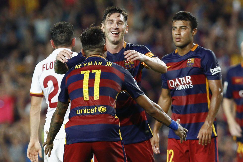 Vuelven el Tridente y los goles; el Barça muerde con Messi