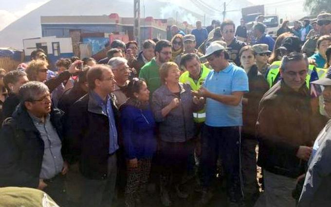 Michelle Bachelet, Chile