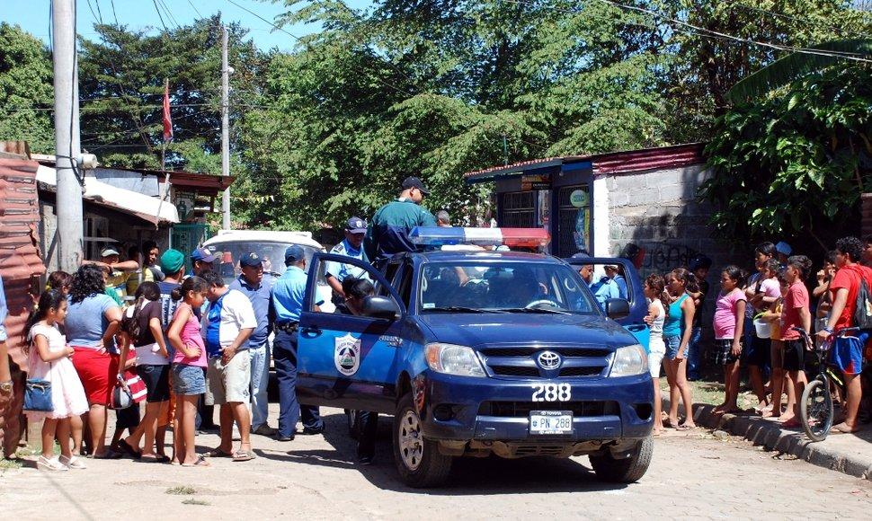 Asesinan a cinco policías en Nicaragua