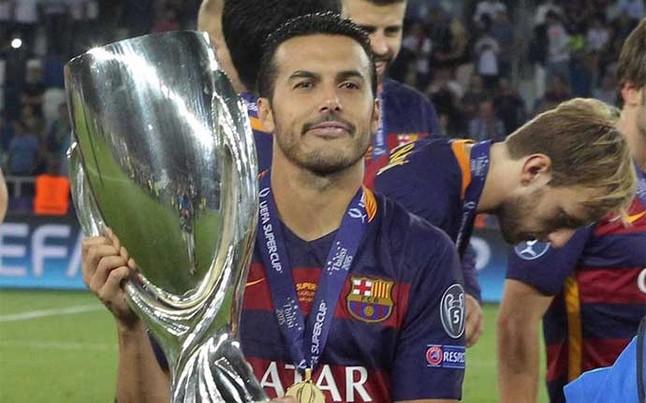 Pedro le regala la Supercopa de Europa al Barça