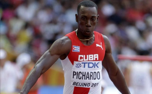 Triplista cubano Pichardo gana su segunda plata mundialista