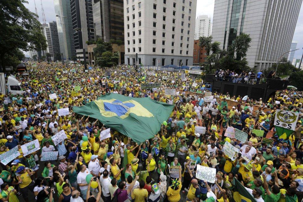 Protestas en Brasil ocurrieron dentro de la normalidad democrática