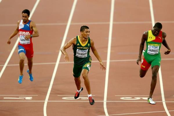Van Niekerk sorprendió con su victoria en los 400 metros