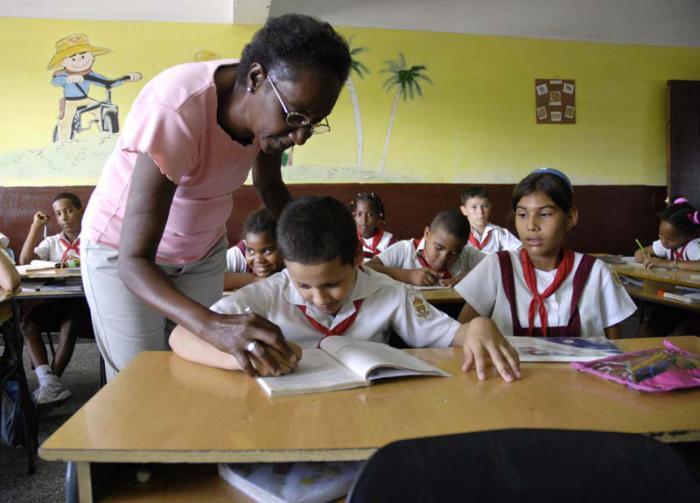 Alistan detalles finales para nuevo curso escolar en Cuba